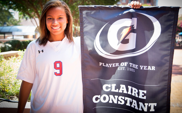 A 'Constant' Stream of Honors for Claire