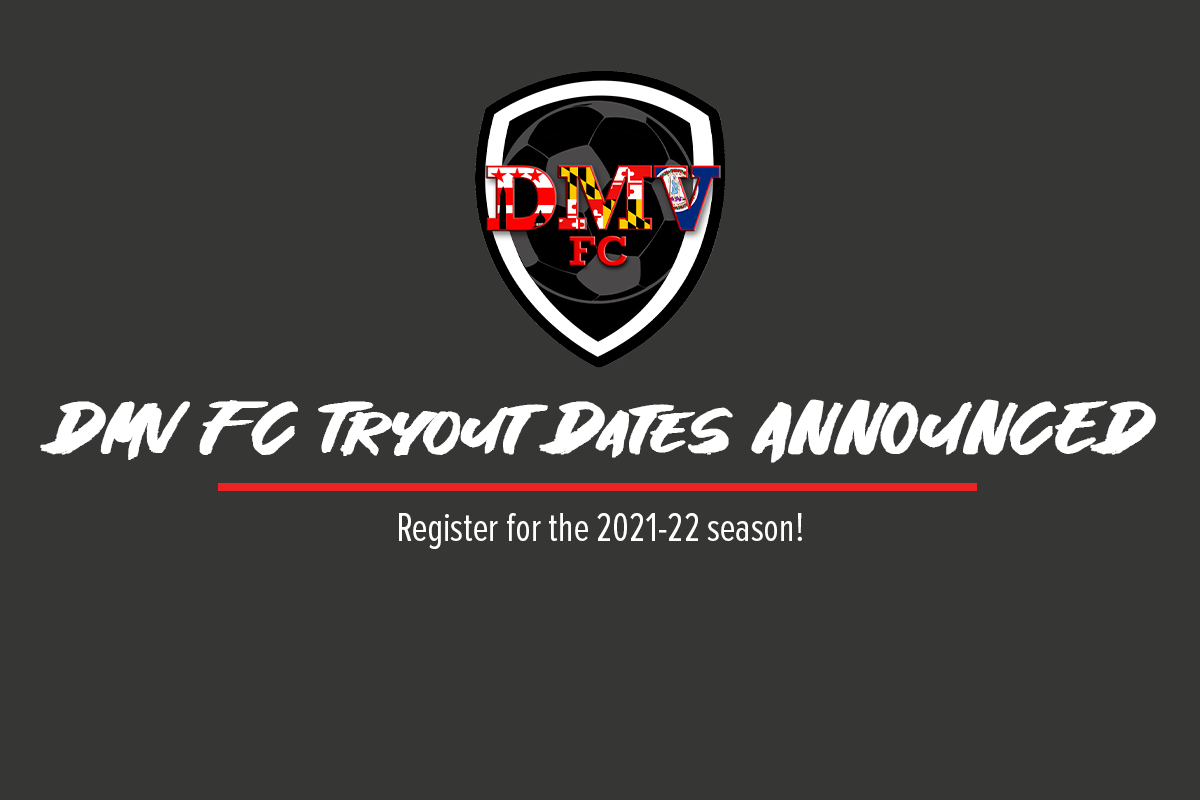 DMV FC announces tryout dates for 2021-22 season